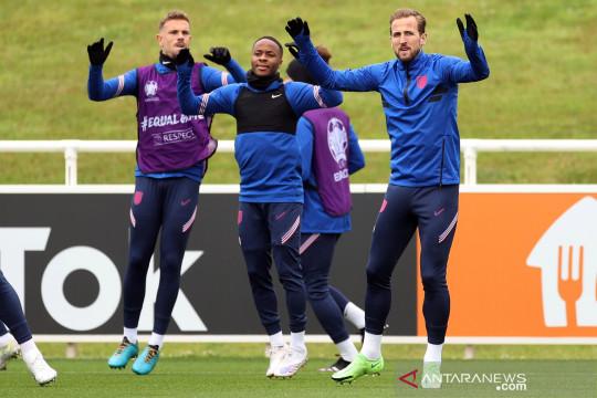 Latihan timnas Inggris jelang semifinal Euro 2020