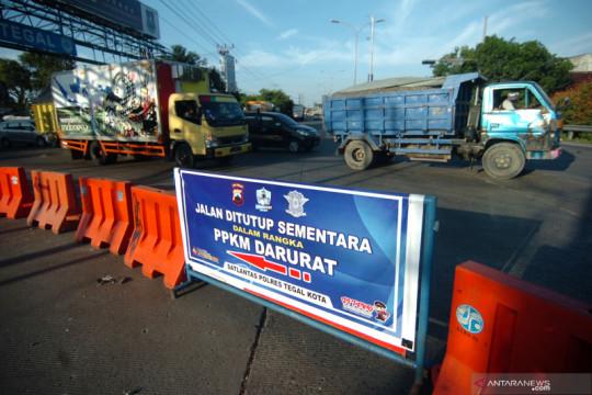 Mobilitas warga di Jawa-Bali terpantau turun, pantura meningkat