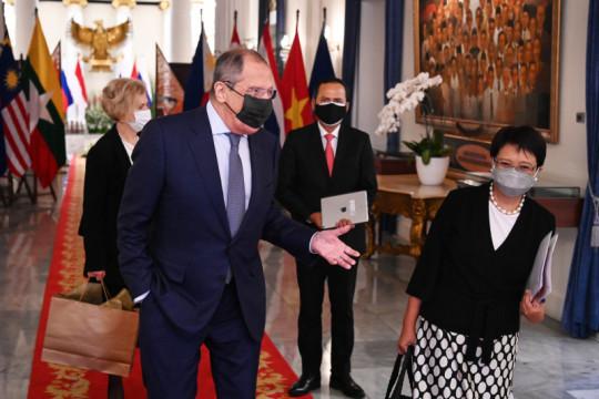 Menlu RI-Rusia bahas rencana kunjungan Presiden Putin ke Indonesia