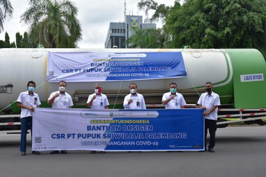 Pusri kirim oksigen cair ke sejumlah rumah sakit Jakarta