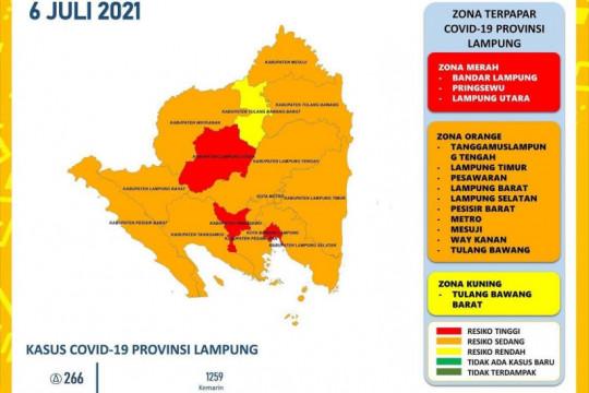 Kota Bandarlampung masuk zona merah penyebaran COVID-19