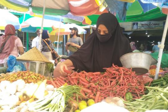Disdag Mataram: PPKM Darurat Jawa-Bali tidak pengaruhi harga pangan