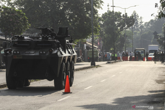 Kodam Jaya bantu pengamanan PPKM Darurat di Jakarta