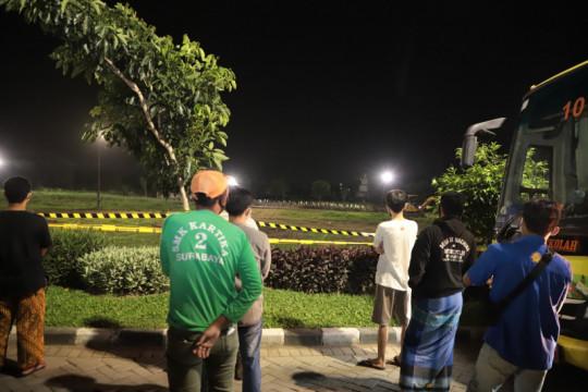Petugas gabungan amankan 145 pelanggar PPKM darurat di Surabaya