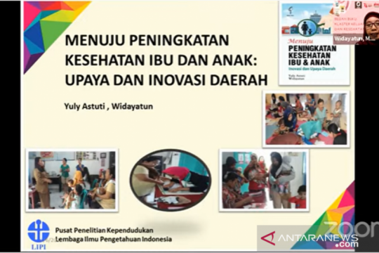 LIPI: Perlu intervensi peningkatan perilaku kesehatan ibu-anak