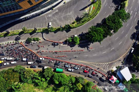 Polda Jatim: Penutupan Bundaran Waru untuk kurangi mobilitas warga