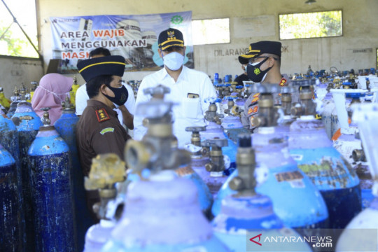 Forkopimda Kota Probolinggo pastikan ketersediaan oksigen medis aman