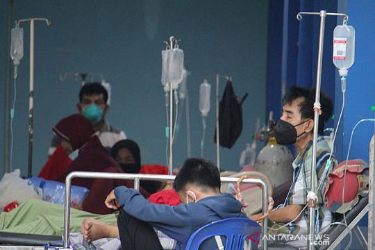 Terjadi penumpukan pasien di RSUDAM akibat kebutuhan oksigen tinggi