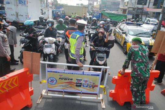 PPKM Darurat, penurunan mobilitas warga Kota Bogor tertinggi di Jabar