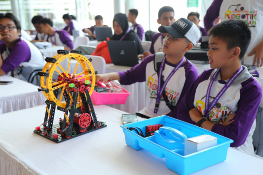 Kompetisi robotik madrasah tingkat nasional digelar Kemenag Oktober