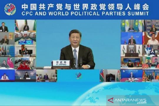 Xi ajak pimpinan parpol dunia saling hormati tujuan setiap negara