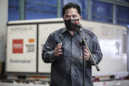 Erick Thohir berduka atas meninggalnya ketua uji klinis vaksin Sinovac