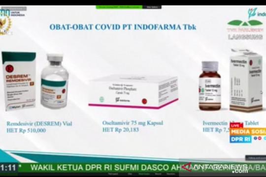 Indofarma tingkatkan produksi Ivermectin hingga dua kali lipat