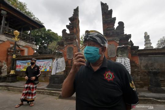 Pembatasan aktivitas di Pura Agung Jagatnatha  saat PPKM Darurat