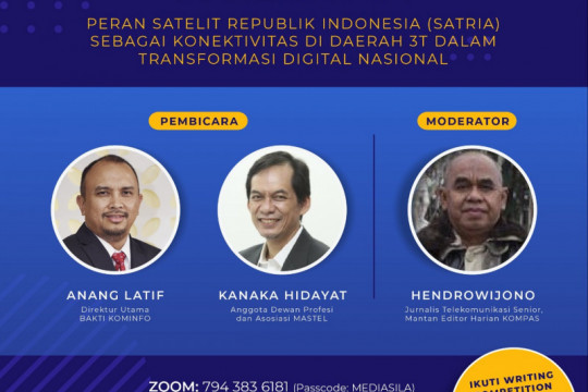 Indonesia akan luncurkan tiga satelit hingga 2030