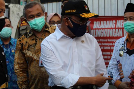 Menko PMK minta Gubernur Lampung konsisten lakukan pengawasan COVID-19
