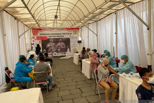 4.287 orang ikuti vaksinasi di Kota Tua Jakarta Barat