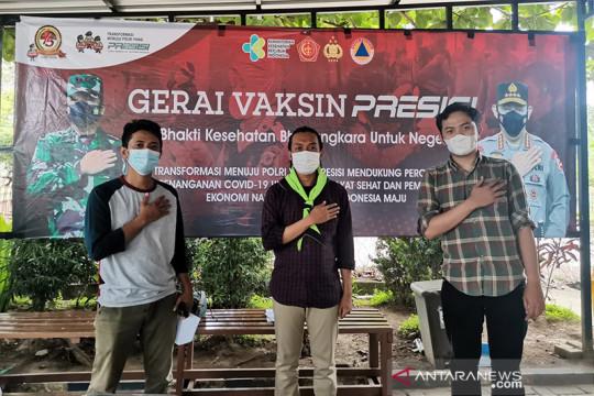 Bakornas Leppami PB HMI dukung Gerakan Vaksinasi Presisi Polri