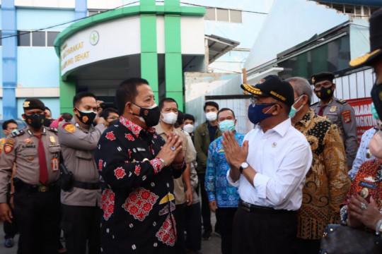 Menko PMK apresiasi Gubernur Lampung dalam pemenuhan kebutuhan oksigen