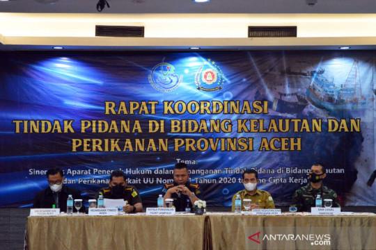 KKP perkuat sinergi penanganan tindak pidana perikanan di Aceh