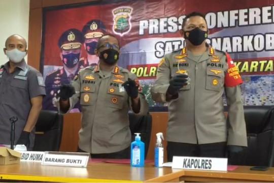 Polrestro Jakpus segera rilis kasus narkoba dalam jumlah besar