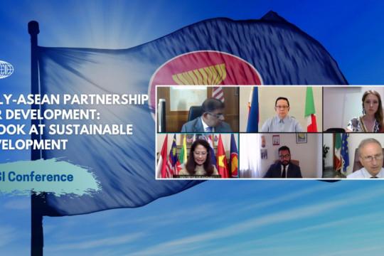 Indonesia dorong kerja sama pembangunan berkelanjutan ASEAN-Italia