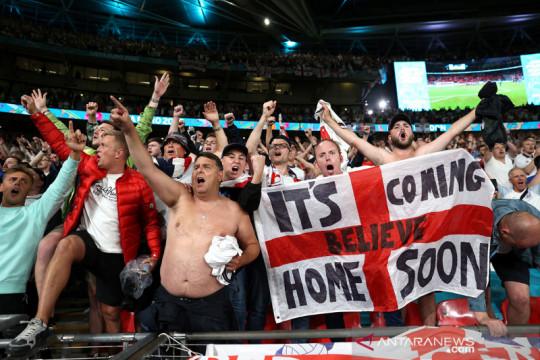 Fans Inggris bisa intimidasi Italia, dilarang hina lagu kebangsaan