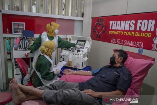 Donor plasma konvalesen di PMI Solo