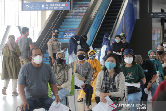 MRT Jakarta gelar vaksinasi gratis di Stasiun ASEAN