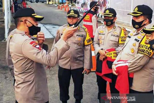 Polrestabes Palembang turunkan 320 personel awasi pengetatan PPKM