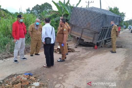 11 persen jalan Provinsi Jambi rusak berat