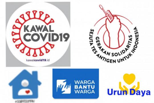 Kumpulan pusat informasi dan gerakan buatan masyarakat atasi COVID-19