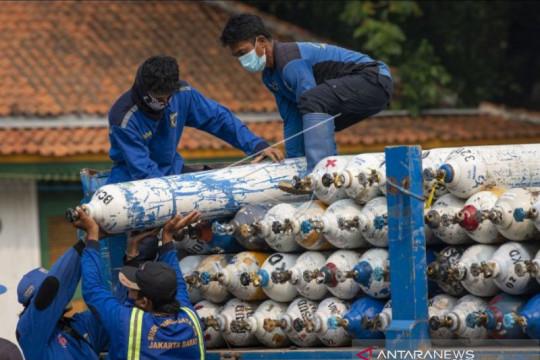 KPPU: Masyarakat Jatim sulit peroleh tabung oksigen harga normal