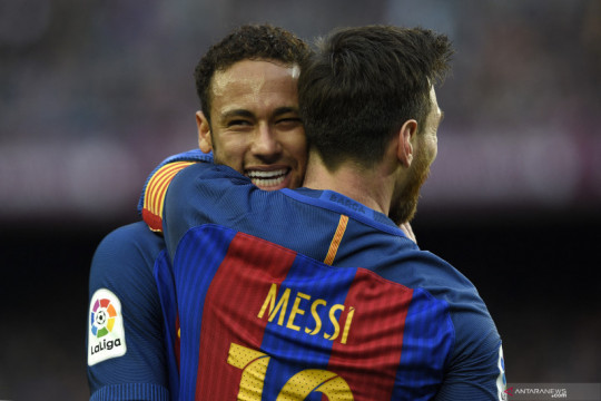 """Neymar sebut persahabatannya dengan Leo Messi """"dipertaruhkan"""" di final"""