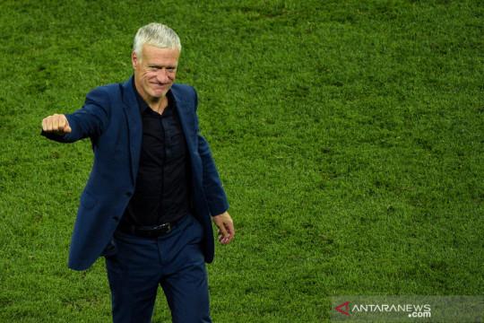 Didier Deschamps akan tetap latih Prancis hingga Piala Dunia 2022