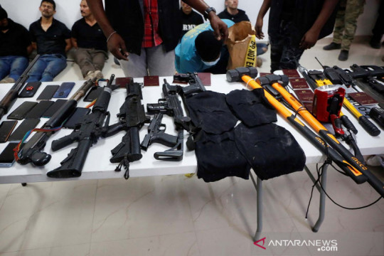 Tersangka pembunuh Presiden Haiti Jovenel Moise ditangkap