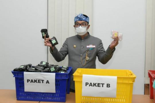 Jawa Barat salurkan bantuan obat dan vitamin bagi penderita COVID-19
