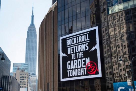 Foo Fighters rilis film dokumenter saat konser pandemi