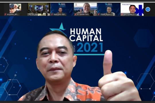 BPJAMSOSTEK raih 4 penghargaan Human Capital Excellence 2021
