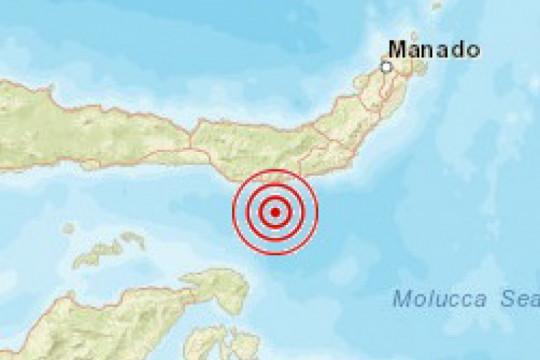 Gempa tektonik magnitudo 5,9 guncang Bolaanguki-Sulut