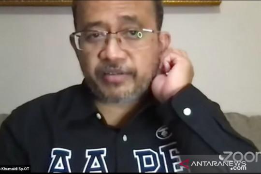 Tim Mitigasi IDI: Sudah 458 dokter wafat akibat COVID-19