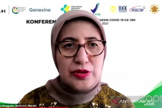 Uji klinis vaksin GX-19N di Indonesia melibatkan 1.000 relawan