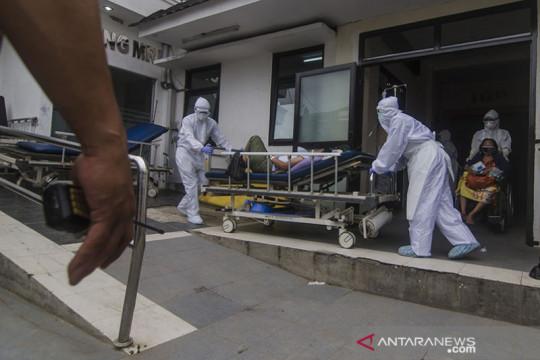 BOR rumah sakit rujukan penanganan COVID-19 di Jawa Barat menurun
