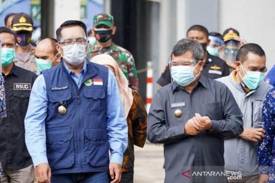 Pemprov Jabar pasok 1.000 tabung oksigen untuk pasien di Garut