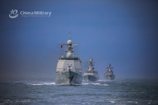 China kerahkan kapal perusak rudal ke perairan Jepang