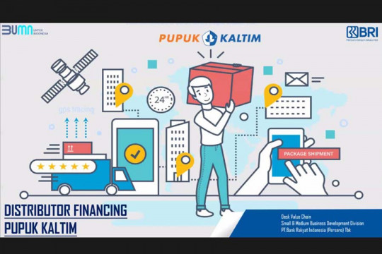 PKT dan BRI kolaborasi sediakan pendanaan distributor pupuk