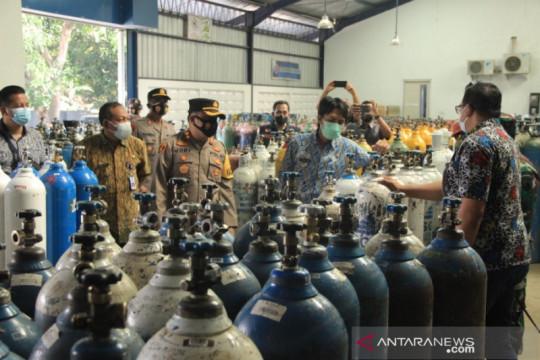 Forkopimda Kabupaten Madiun pastikan ketersediaan oksigen medis aman