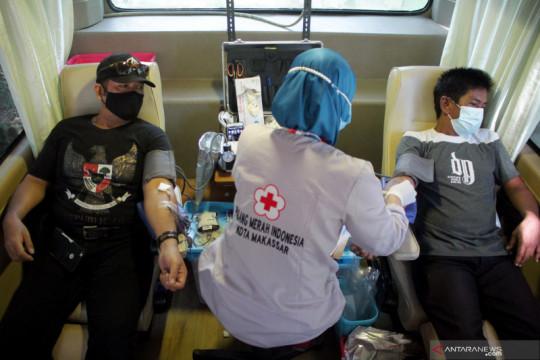 Stok plasma konvalesen PMI Makassar kosong sejak Mei