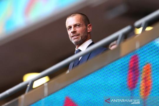 Presiden UEFA tidak akan lagi dukung Euro digelar pan-kontinental