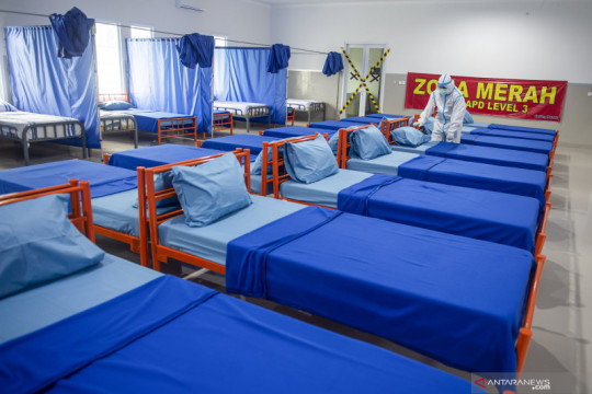 Gedung Kimia Farma dan Asrama Telkom Bandung jadi RS Darurat COVID-19